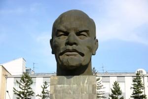 Statue of Lenin in Ulan Ude, Buryat Republic, Siberian Russia