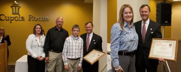 Kelly Autism Award recipients
