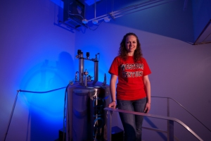 Brittany Morgan is studying biochemistry at WKU. (WKU photo by Clinton Lewis)