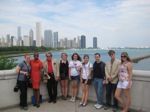 Seven WKU Honors students and two faculty members spent two weeks exploring the life and literature of Chicago in May 2012 through a Study Away course during Summer Sessions.