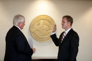 Cory Dodds sworn in