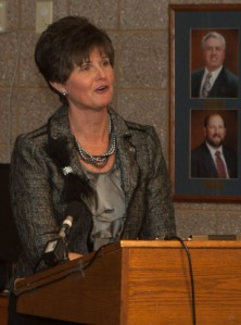 Hardin County Schools Superintendent Nannette Johnston