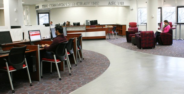 """The Grand Opening of """"The Commons at Cravens"""" will begin at 4 p.m. Jan. 31 with remarks at 4:30 p.m."""
