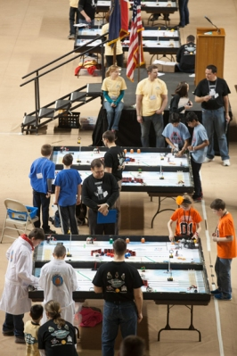 """The theme of this year's competition was """"Senior Solutions."""" (WKU photo by Clinton Lewis)"""