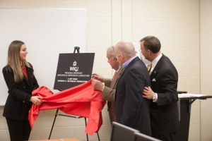 A gift from the Richard S. Reynolds Foundation (WKU photo by Clinton Lewis)