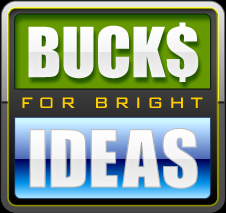 Bucks for Bright Ideas logo