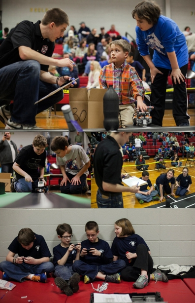 A total of 116 students on 34 teams participated in the 13th annual Kentucky Bluegrass LEGO Robotics Competition on Feb. 23. (WKU photos by Bryan Lemon)