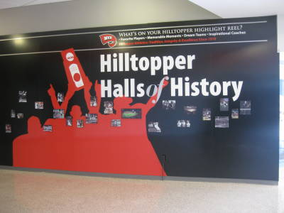 "A dedication ceremony for ""Hilltopper Halls of History"" will be held Feb. 21 during halftime of the WKU vs. ULM men's basketball game at Diddle Arena."