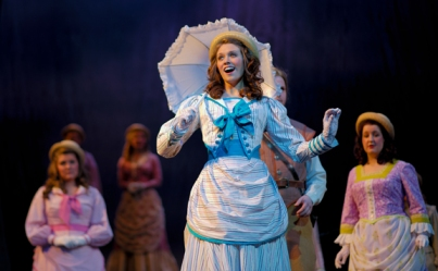"Jessie Boeglin, a senior from Bowling Green, has the role of Mabel in ""The Pirates of Penzance."" (Photo by Jeff Smith)"