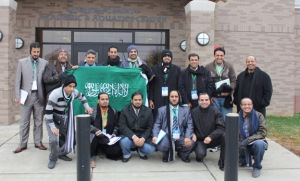A group of educators from Saudi Arabia visited WKU and Bowling Green in January 2013. (Photo by Josh Raymer)