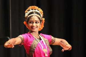 SaiSudha Kotla performed Kuchipudi, a classical Indian dance popular all over South India, as part of Jhankar 2013 -- Colors of India on Feb. 23.