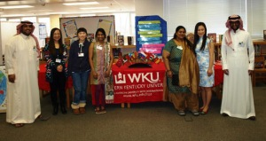 A group of WKU international students visited Lost River Elementary School on March 26.