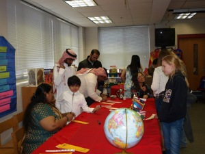 WKU international students shared their cultures with students at Lost River Elementary School on March 26.