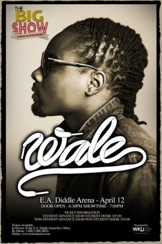 wale concert poster