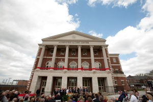The Augenstein Alumni Center is the new home for the WKU family and friends. (WKU photo by Clinton Lewis)