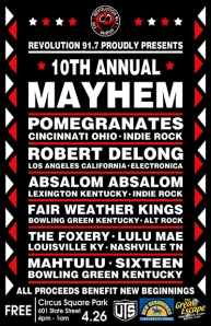 mayhem flyer
