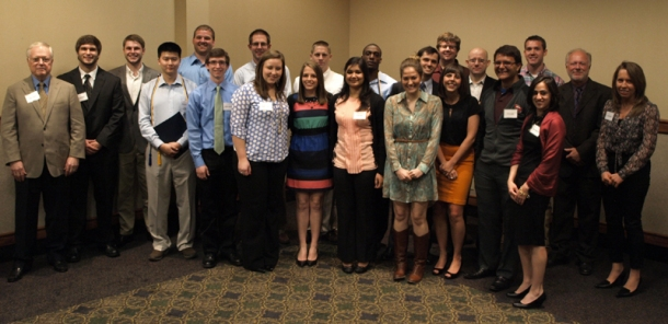 The WKU chapter of the Omicron Delta Epsilon International Economics Honor Society inducted 26 students on April 19.