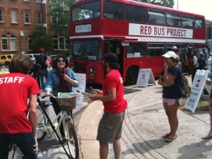 The Red Bus Project tour is visiting about 20 schools on its spring tour and will stop at WKU on April 11.