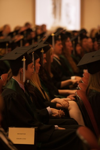 The Gatton Academy recognized its sixth graduating class on May 11 at Van Meter Hall. (WKU photo by Clinton Lewis)