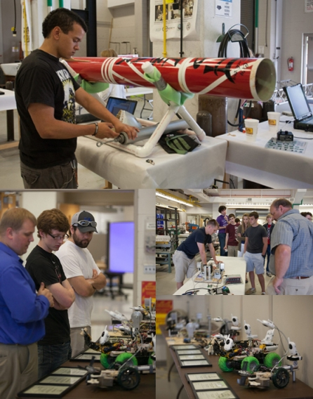 Student projects were on display May 8 during the 12th annual Engineering Expo. (WKU photos by Clinton Lewis)