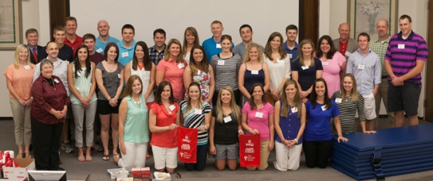 The first cohort of WKU's Doctor of Physical Therapy program began classes this month. (WKU photo by Clinton Lewis)