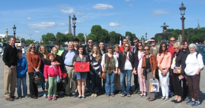 A group from The Center for Gifted Studies at WKU recently spent 10 days in France.