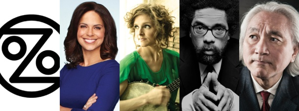 The lineup for the 2013-14 Cultural Enhancement Series at WKU is (from left) Ozomatlli (Sept. 17), Soledad O'Brien (Nov. 5), Abigail Washburn & The Wu Force (Feb. 4), Dr. Cornel West (Feb. 21) and Dr. Michio Kaku (March 17).