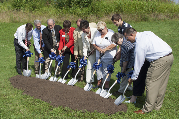 Etown-groundbreaking