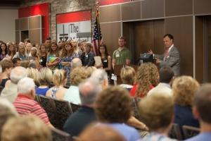 WKU President Gary Ransdell said The Medical Center-WKU Health Sciences Complex