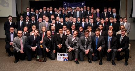 WKU's Chi Eta Chapter of Phi Gamma Delta is the 2012-13 recipient of the Cheney Cup, the fraternity's most prestigious award.