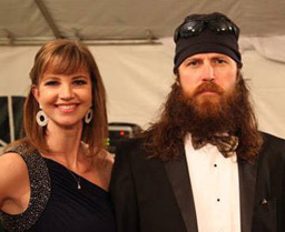 appearance by missy and jase robertson stars on a e s duck dynasty