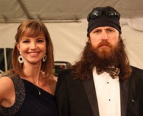 "An appearance by Missy and Jase Robertson, stars on ""A&E's Duck Dynasty,"" has been postponed until Feb. 8, 2014."