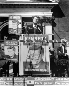WKU Special Collections Library has launched the JFK Memory Project to collect remembrances of John F. Kennedy, including his October 1960 campaign stop in Bowling Green.
