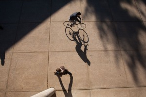 The League of American Bicyclists has named WKU a Bronze Level Bicycle Friendly University. (WKU photo by Clinton Lewis)