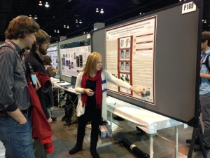 WKU graduate student Beth Tyrie describes her thesis research about karst visualizations.