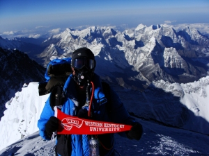 Dr. John All will return to Mount Everest this spring. He reached the summit there in 2010.
