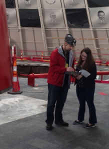 Dr. Jason Polk and Dr. Leslie North have been at the National Corvette Museum almost daily since a sinkhole swallowed eight Corvettes on Feb. 12.
