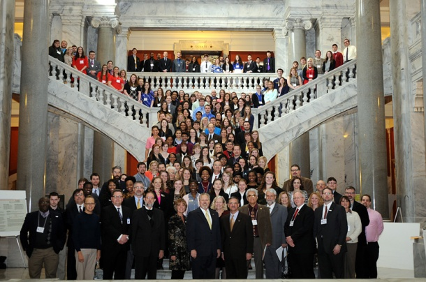 2014 Posters-at-the-Capitol participants