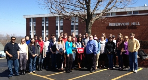 Students in WKU's long term care administration program toured Barren River Adult Day Care on March 20.