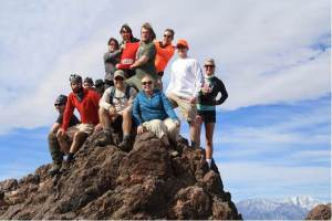 A group of WKU students spent their 2014 spring break week examining the geology of Death Valley and the Mojave Desert as part of a field-based geology course led by Dr. Andrew Wulff.