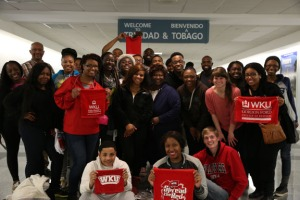 A group of WKU students traveled to Trinidad and Tobago as part of a Faculty-Led Study Abroad course in the spring 2014 semester.