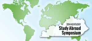 The Kentucky Study Abroad Symposium will be held April 19 at WKU's Knicely Conference Center.