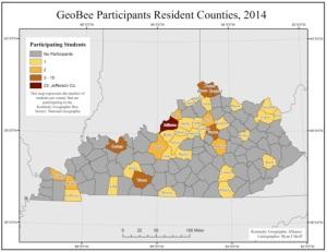 2014 geo bee map