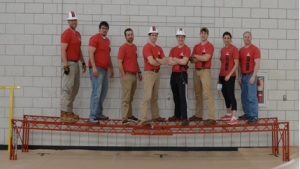WKU civil engineering's steel bridge team will compete for national honors May 23-24 at the University of Akron.
