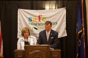 Safe Communities announcement