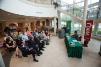 The signing ceremony was held at the Ivy Tech-Southwest campus in Evansville, Ind.