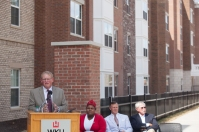 Brian Kuster, director of WKU Housing & Residence Life, spoke at the ceremony.
