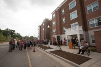 WKU dedicated the 1355 Kentucky Street Apartments on Aug. 11.