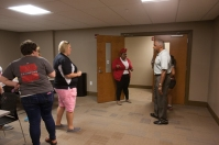 Tours of the facility were offered after the ribbon cutting ceremony.