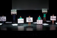 The CloseUP Theatre Troupe performed for WKU's Class of 2018 during 2014 M.A.S.T.E.R. Plan activities held Aug. 17-21.
